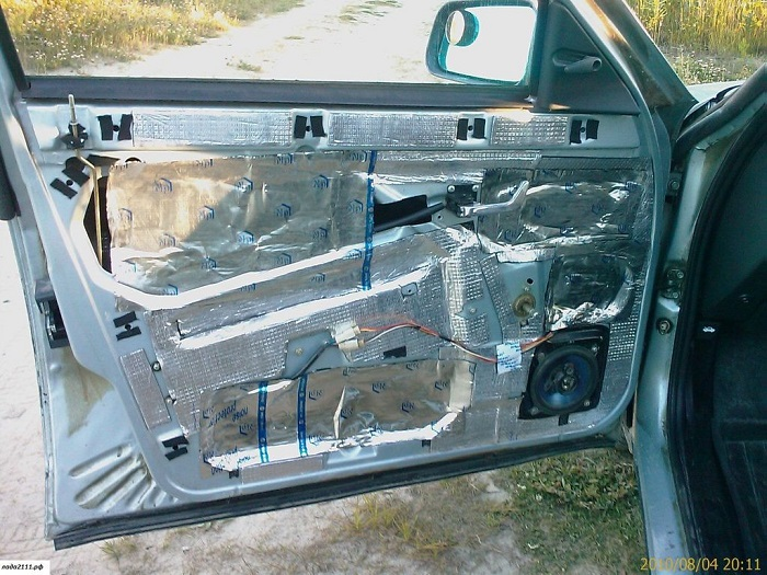Шумоизоляция автомобиля ваз 2110