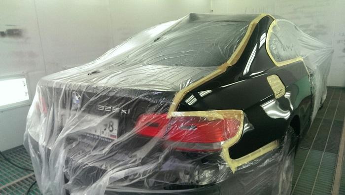 Восстановление лакокрасочного покрытия автомобиля при разных повреждениях