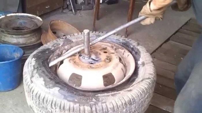 Бортируем шины своими руками