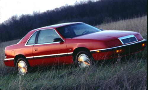 Chrysler Le Baron Купе С 1988 по 1993