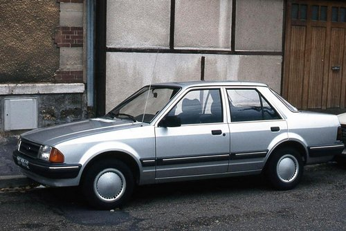 Ford Orion Седан С 1983 по 1990
