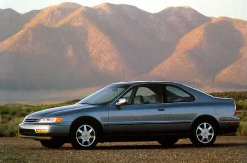 Honda Accord Купе С 1994 по 1997