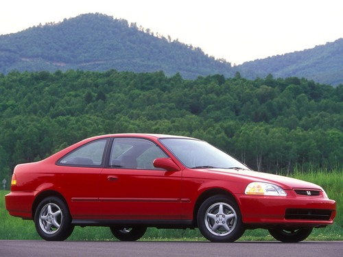 Honda Civic Купе С 1996 по 2001