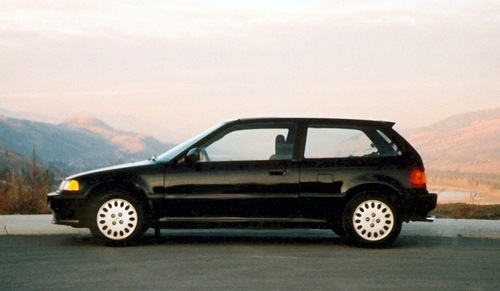 Honda Civic Универсал С 1988 по 1991