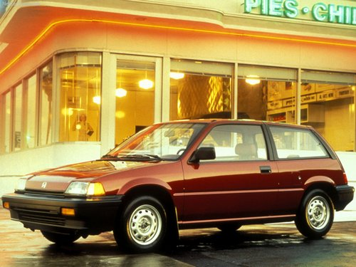 Honda Civic ������� � 1987 �� 1991