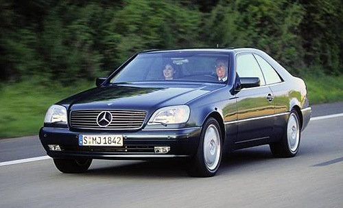 Mercedes-Benz CL Купе С 1992 по 1999