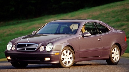 Mercedes-Benz CLK Купе С 1997 по 2002