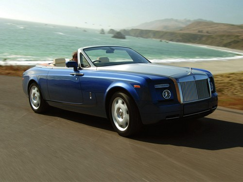 Rolls-Royce Phantom Drophead Купе С 2007 по 2012
