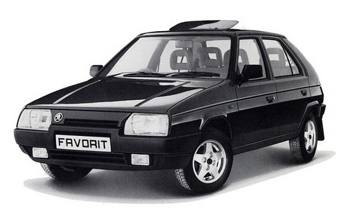 Skoda Favorit Хэтчбек С 1989 по 1994