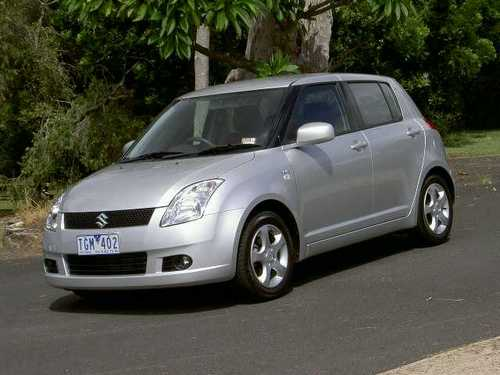 Suzuki Swift Хэтчбек С 2005 по 2011