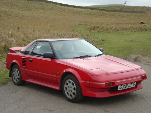 Toyota MR2 ���� � 1985 �� 1990