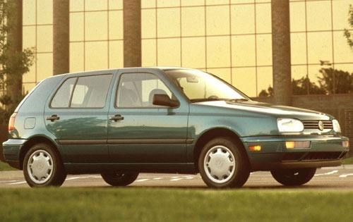 Volkswagen Golf Хэтчбек С 1992 по 1998