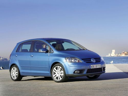 Volkswagen Golf Plus С 2005 по 2008