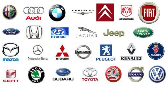 Значки машин и их названия. Что означают эмблемы марок