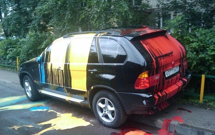 GetRidOfPaint1 - Чем оттереть краску с кузова автомобиля