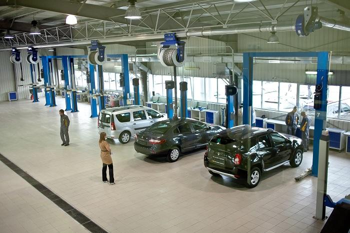 STOService1 - Техническое обслуживание нового автомобиля
