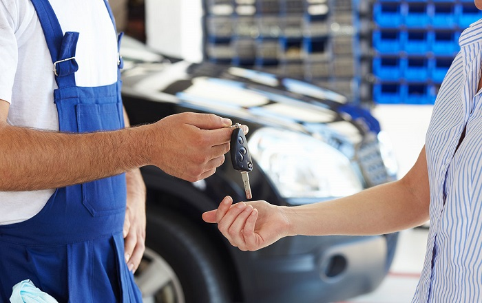 STOService2 - Техническое обслуживание нового автомобиля
